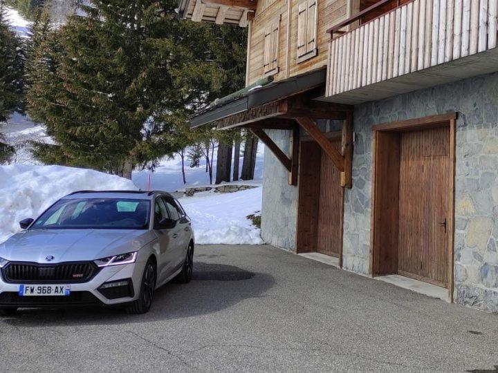 Skoda Octavia RS Combi : nos photos de la voiture des VRP