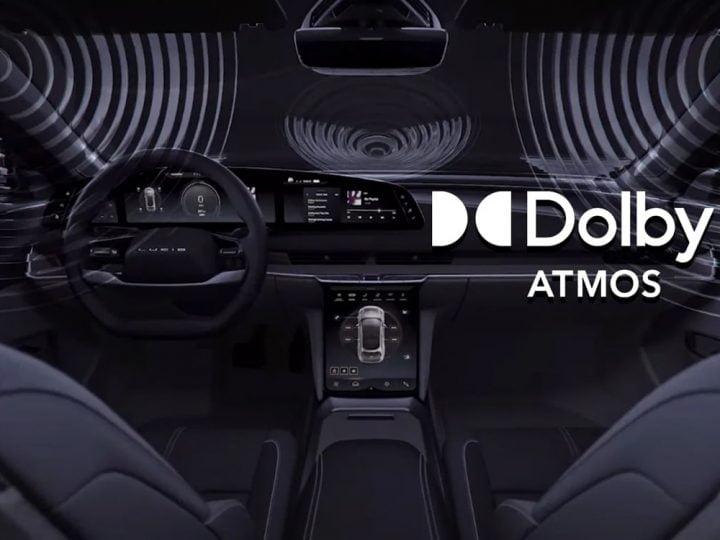 La Lucid Air est la première voiture avec un son Dolby Atmos