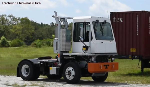 Volvo Penta et Tico dveloppent des tracteurs lectriques de terminaux
