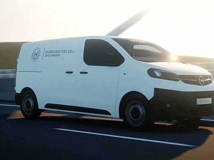 Stellantis présente ses 3utilitaires hydrogène Citroën, Peugeot et Opel