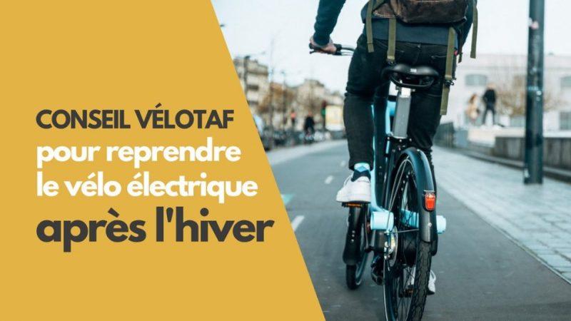 Rejoindre son Travail en Vélo Électrique au Printemps