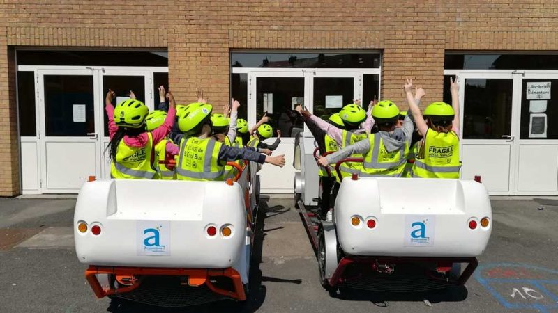 S'Cool Bus : le Vélobus de ramassage scolaire stoppé dans son élan