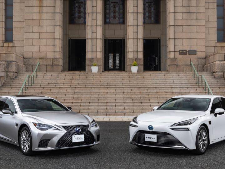 Toyota Mirai et Lexus LS 500h lancent un système d'assistance à la conduite «mains libres partiel»