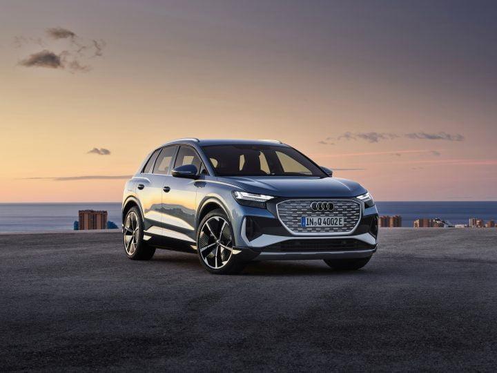 PHOTO – Audi Q4 e-tron (2021) & Q4 e-tron Sportback, sus au Tesla Model Y
