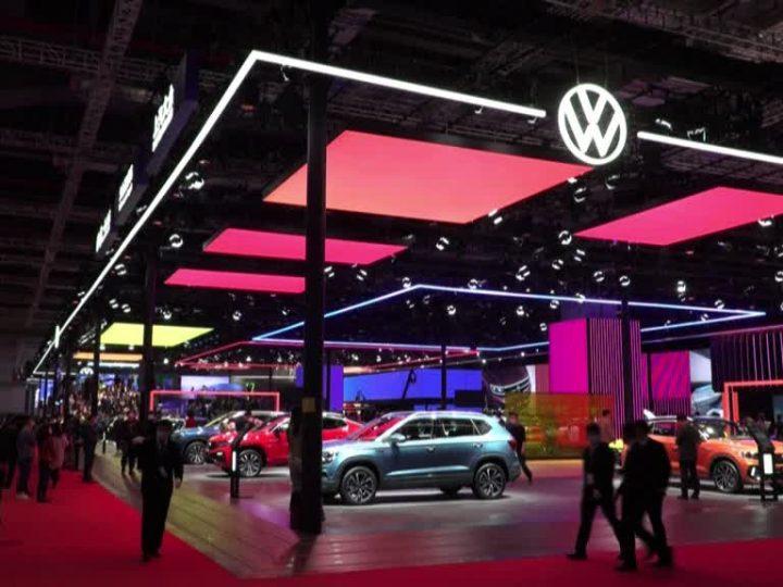 Chine: ouverture du Salon de l'automobile de Shanghai