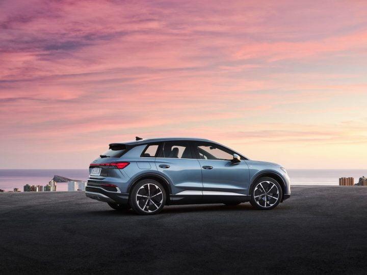 Audi Q4 e-tron : le nouveau SUV compact électrique à partir de 42 800 €