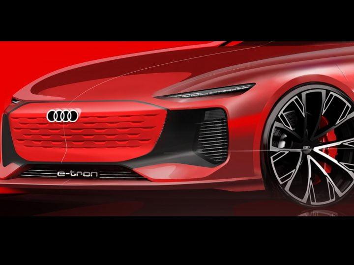 Audi préfigure un concept de berline électrique e-tron