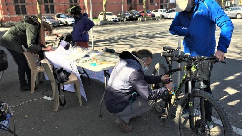 Quesnoy-sur-Deûle : les ateliers de réparation et de marquage de vélo font un carton