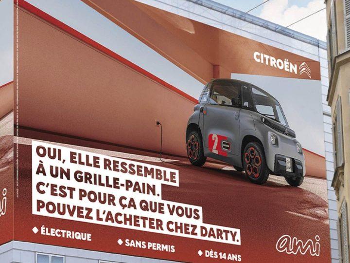 Citroën Ami: la petite électrique s'offre une campagne de com' décalée