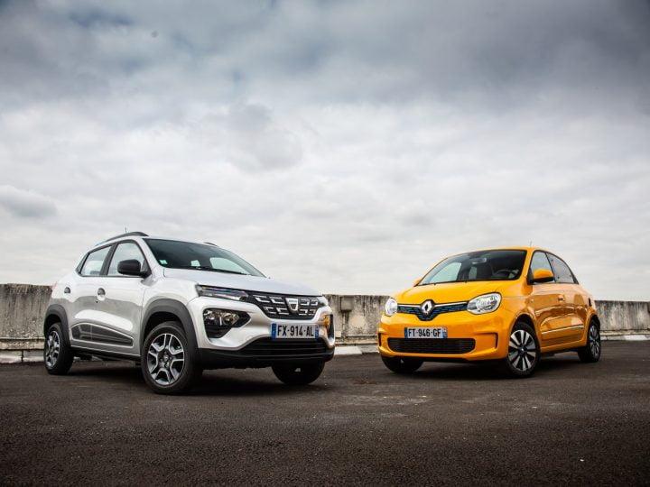 Essai Dacia Spring vs Renault Twingo ZE: quelle est la meilleure des citadines électriques?