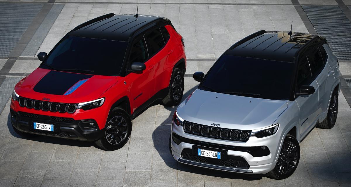 Jeep Compass restylé (2022) : un SUV compact toujours plus européen et plus moderne