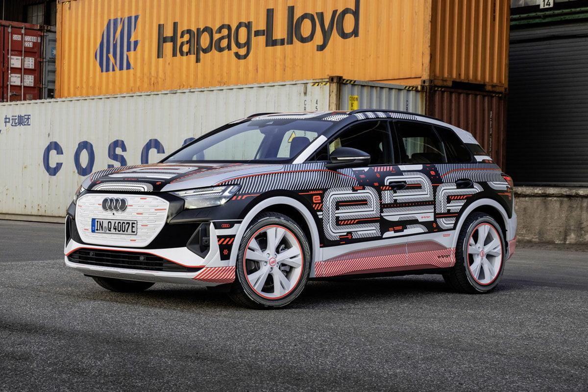 L'Audi Q4 e-Tron verra le jour officiellement le 14 avril prochain