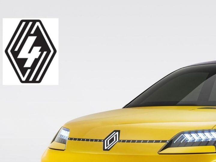 Renault 4 : un nouveau logo annonciateur d'une R4 électrique ?