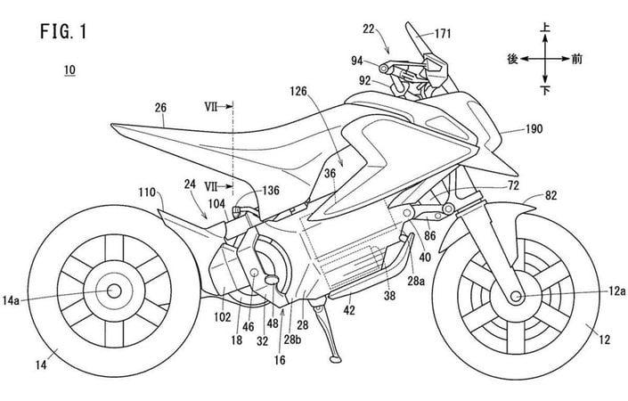 de nouveaux brevets pour Honda