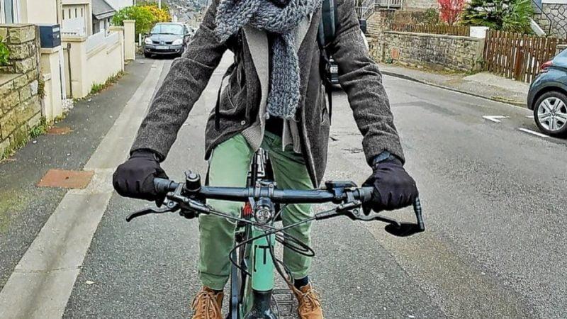 Bruno, le vélo au quotidien en milieu urbain