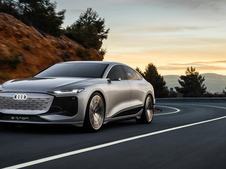 Shanghai: Audi donne un aperçu de l'A6 électrique pour 2023