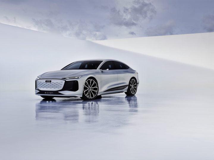 Audi A6 E-Tron Concept: le fastback électrique transforme l'héritage en une plateforme 800V