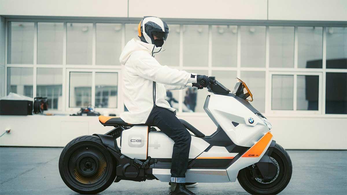 le nouveau scooter électrique de BMW en approche