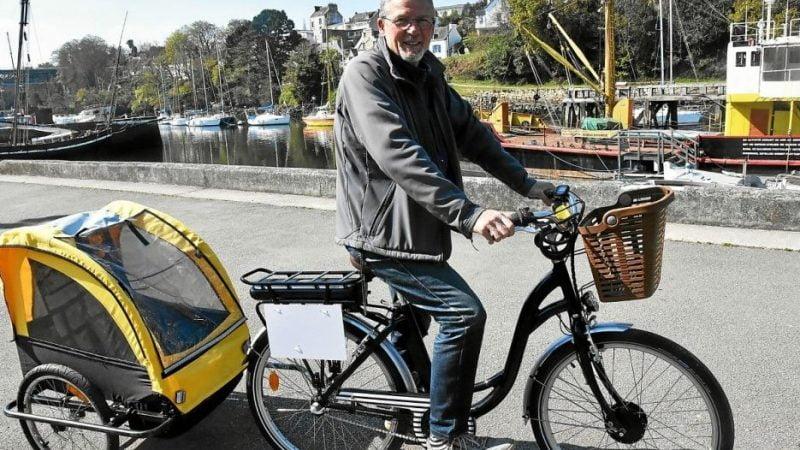 À Douarnenez, il abandonne la restauration pour la location de vélos