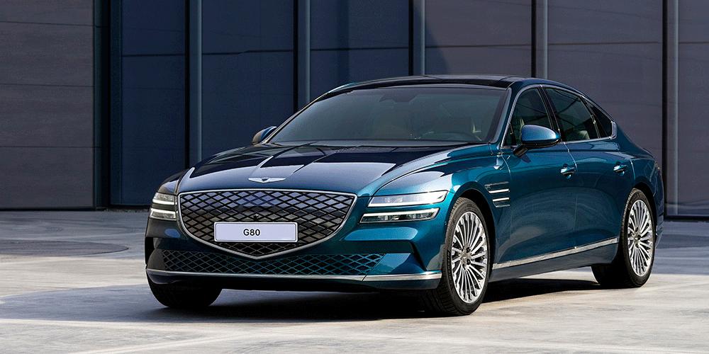 Genesis dévoile la variante BEV de sa berline de luxe G80
