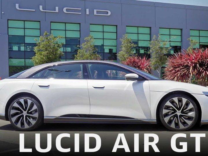 Regardez cette revue de Lucid Air Grand Touring et roulez le long