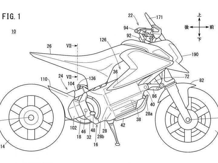Mini-moto Honda électrique