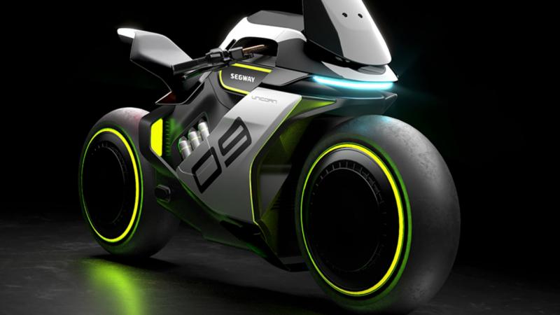 moto électrique et hydrogène en canettes