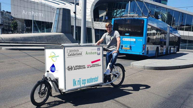 Le tout premier vélo cargo à hydrogène bientôt en circulation