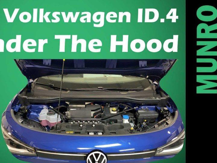 Sandy Munro vérifie pourquoi la Volkswagen ID.4 n'a pas de frunk
