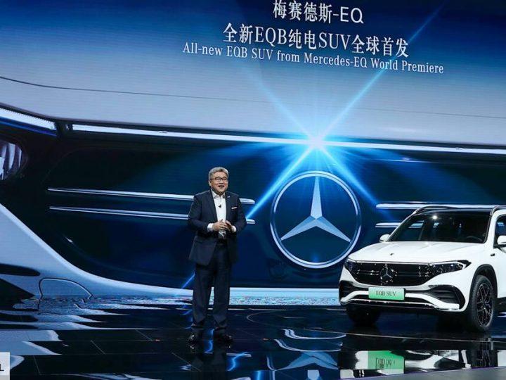 Volkswagen ID6, EQB… les nouveautés électriques au salon de Shanghai 2021