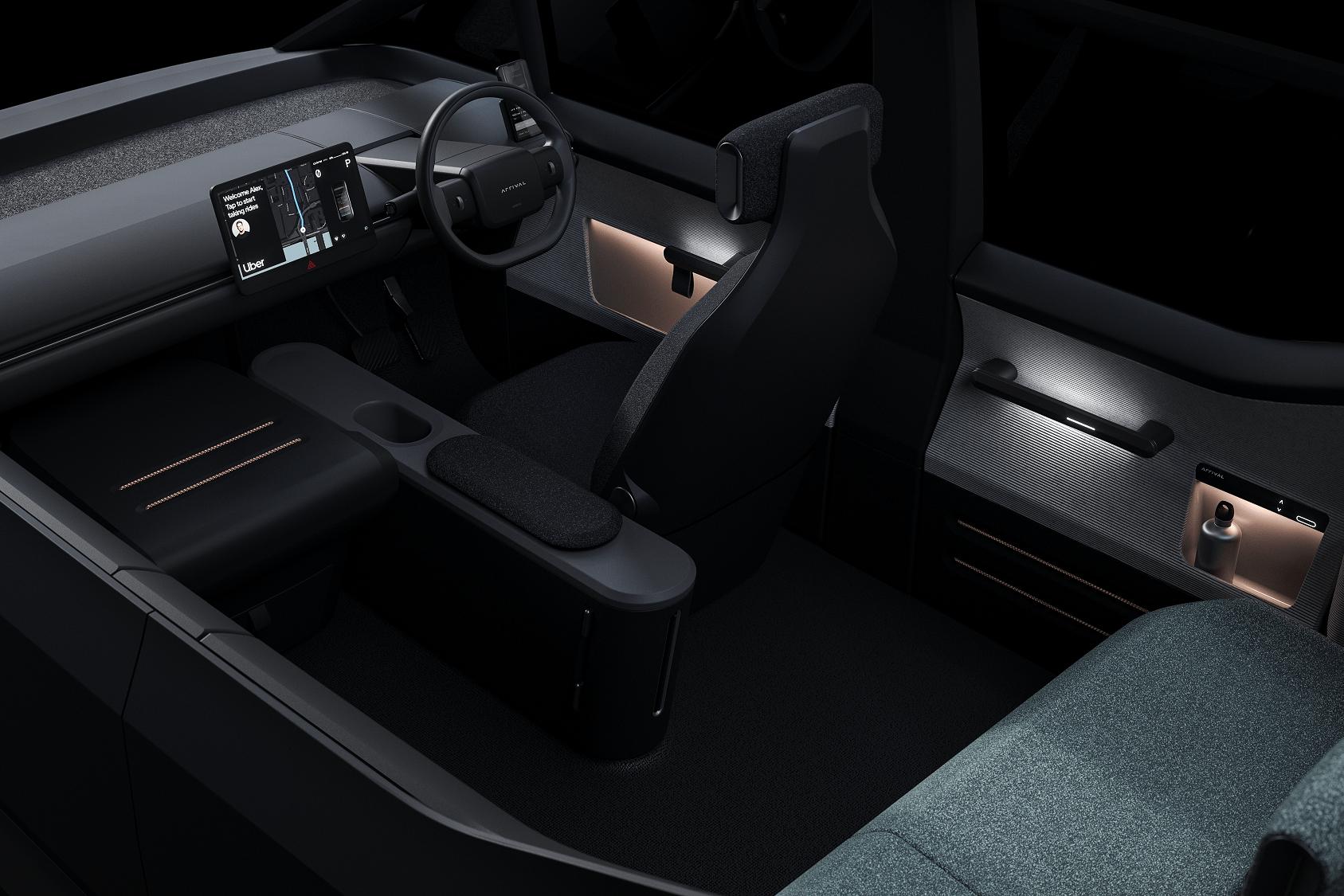 Uber et Arrival confirment leur accord pour produire des véhicules électriques