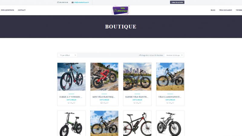Achat E Bike Suisse
