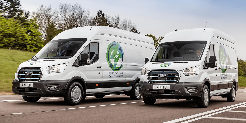 Ford E-Transit en Europe dans un test pratique de la fin de l'été