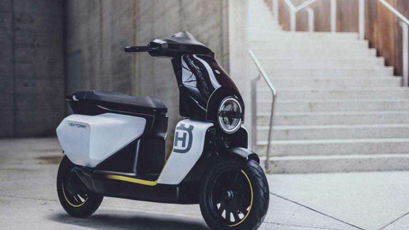 Husqvarna dévoile son premier scooter électrique