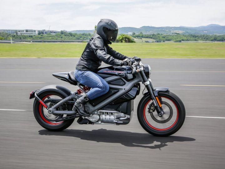 Les motards peu convaincus par la moto électrique