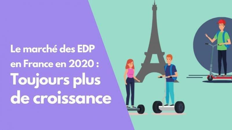 Le Marché des EDP poursuit sa croissance en France en 2020