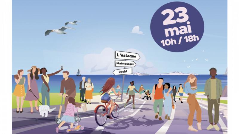 Dimanches sans voitures : la «voie est libre» sur la Corniche et l'Estaque