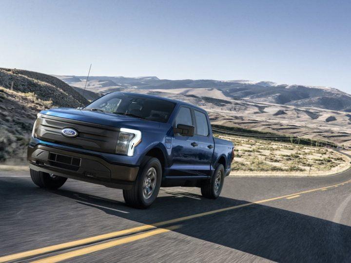 Ford F-150 Lightning: empreinte de véhicule à essence de 85 mpg, continuera à devenir plus propre avec la grille