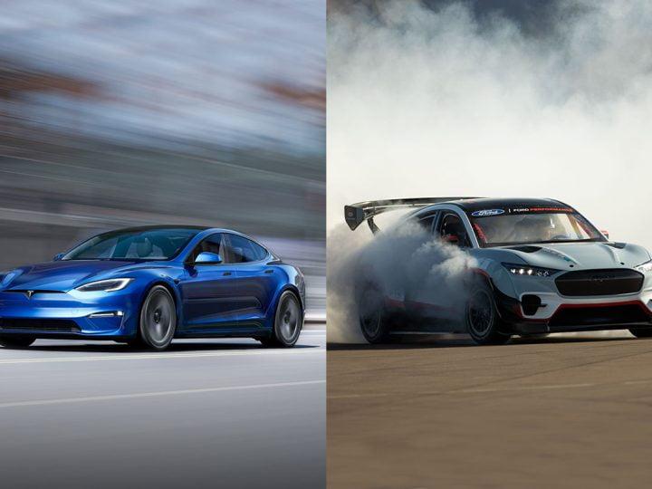Tesla Model S Plaid vs Mustang Mach-E 1400 ? Une bonne idée selon le PDG de Ford