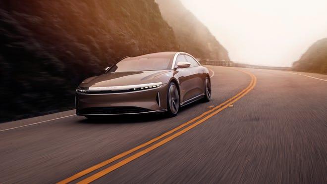 Le véhicule de luxe électrique Lucid Air 2021 pourrait rivaliser avec Tesla