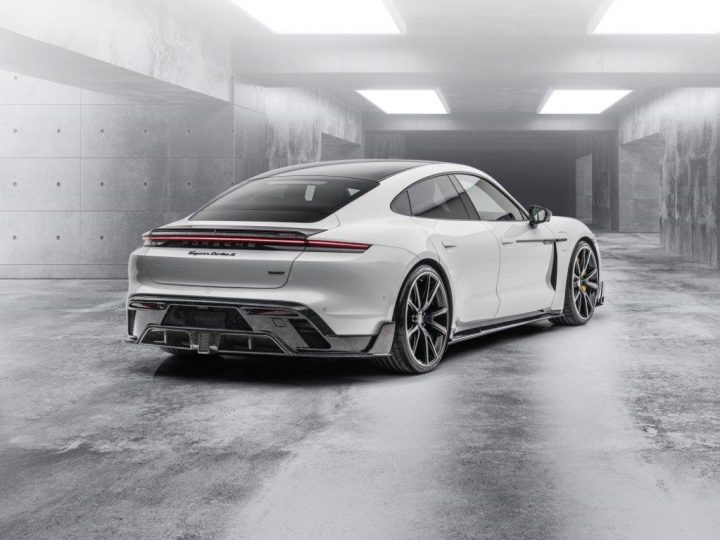 Le programme Mansory Porsche Taycan annoncé