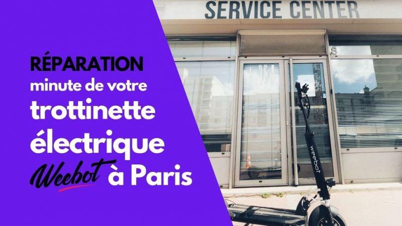 Weebot Paris : Réparation Trottinette Électrique dans la journée