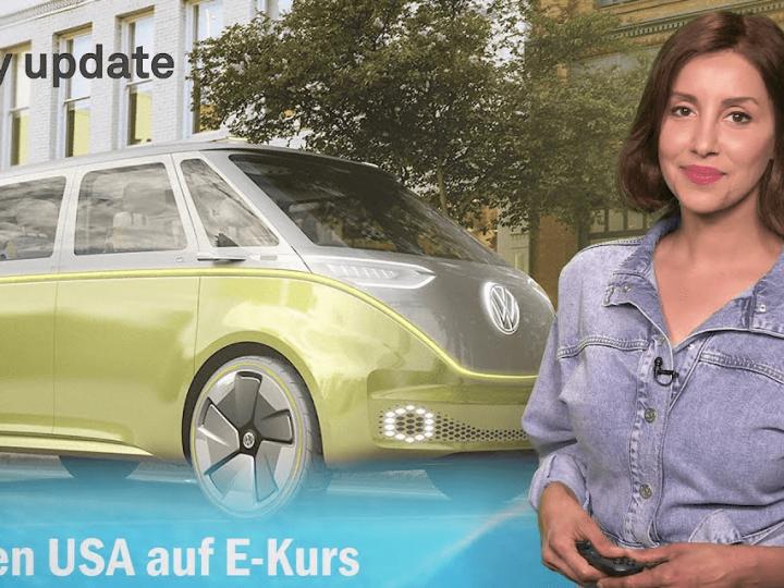 Mise à jour sur l'eMobilité: VW sur un cours en ligne aux États-Unis, Varta livre à Porsche, un autre Stromer chinois, Hopium