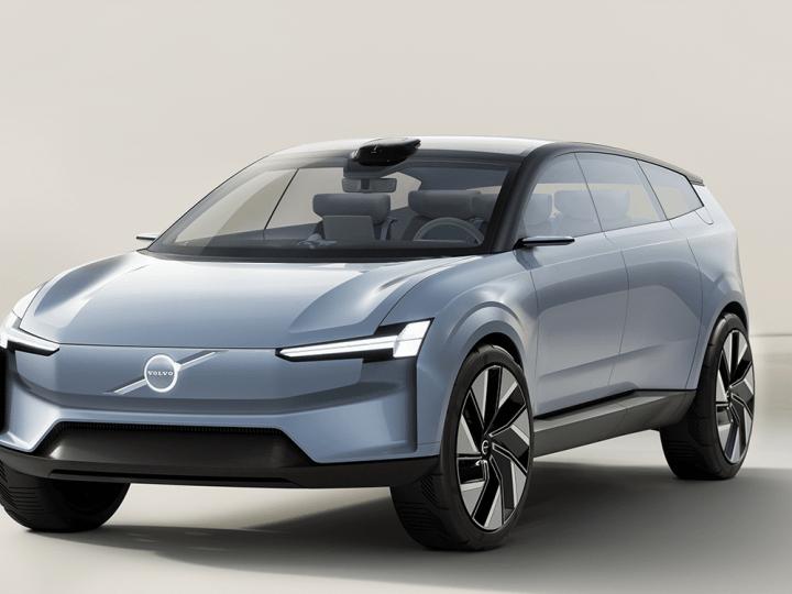Volvo présente l'étude de conception électrique Concept Recharge – electrive.com