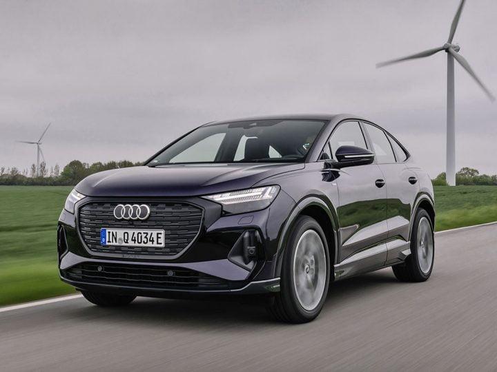 Audi Q4 Sportback : le SUV coupé électrique dispo dans une version inédite