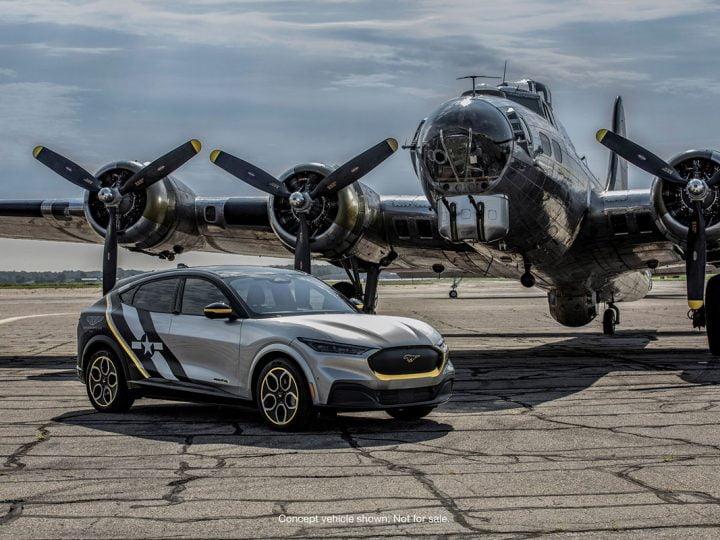Cette Ford Mustang électrique unique rend hommage aux femmes pilotes