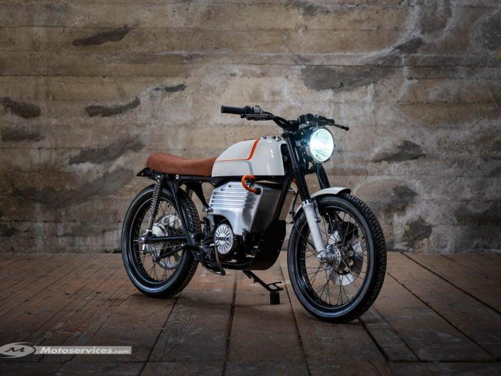 Honda CB200 électrique : c'est l'Omega EV200