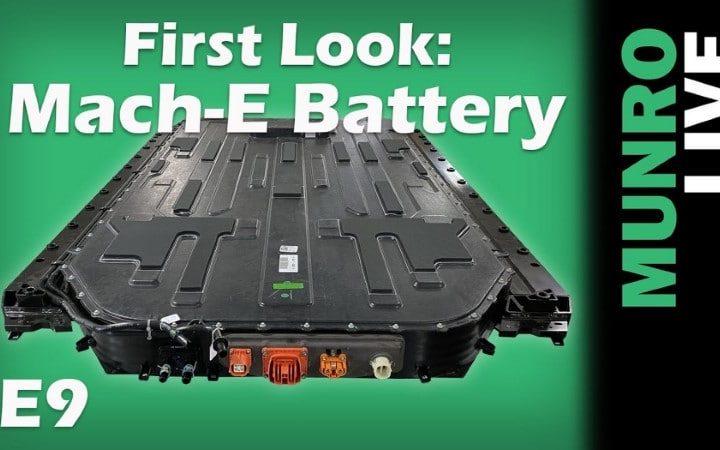 La batterie de la Ford Mustang Mach-E fait parti de la structure du véhicule
