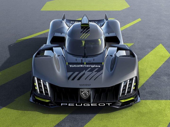Peugeot 9X8 : une hypercar hybride à la conquête du Mans