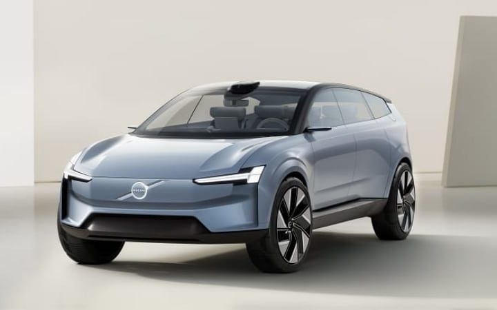 Volvo Concept Recharge : le véhicule donne un aperçu du futur des véhicules électriques du constructeur